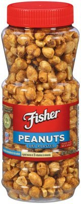 John B Sanfilippo Fisher Dry Roasted Peanuts, 14 oz (Peanuts Fisher compare prices)