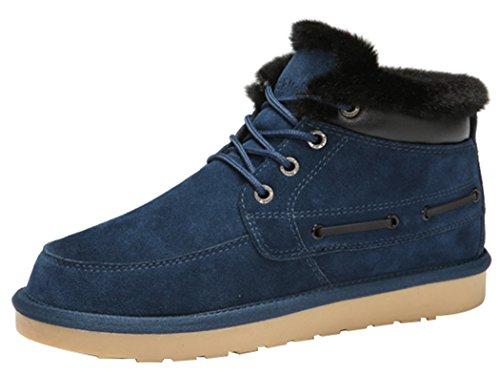 Rock Me Men'S Baken Iv Waterproof Winter Ankle Snow Boot(11 D(M) Us, Blue)
