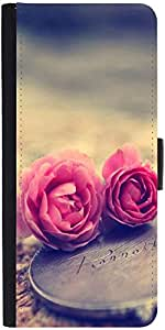 Snoogg Miniature Roses Designer Protective Phone Flip Case Cover For Phicomm Energy 653 4G