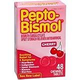 Marble Medical Pack Of 3 Each Pepto Bismol Tab Cherry 48Tb Pt#149003979