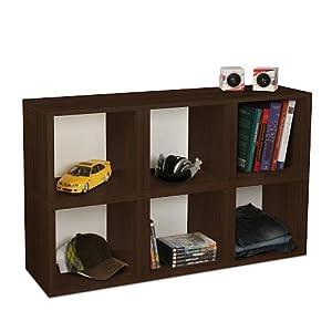 way basics eco modular stackable 6 cubby