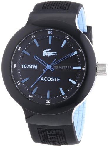 Lacoste Herren-Armbanduhr XL Borneo Analog Quarz Plastik 2010719