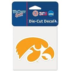 Buy Iowa Hawkeyes Official NCAA 4x4 Die Cut Car Decal by WinCraft