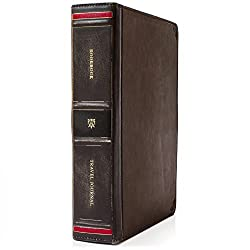 Twelve South BookBook Travel Journal | Carry your iPad/tablet along with your accessories in one convenient case