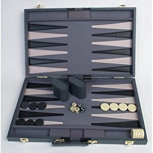 21 inches  Backgammon Attache