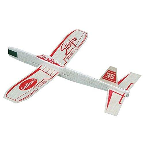 Starfire Balsa Wood Glider Plane - 1