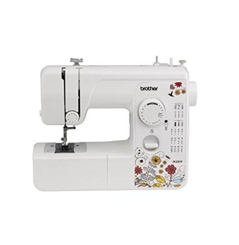 US Shipping Brother Sewing Machine JX2517 Lightweight - 17 Stitch - 4 Step Buttonholer (Brother Bb370 compare prices)