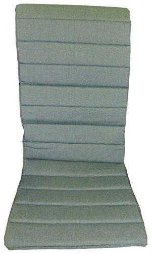 Dünnes Stuhlkissen Polster für Textilene Sessel in grün günstig online kaufen