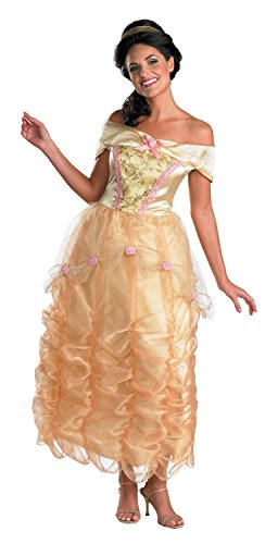 Belle Adult Deluxe Costume Disney Beauty & The Beast Costume 50501