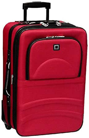 "Leisure Eclipse 28"" Wheeled Upright,Red,One Size"