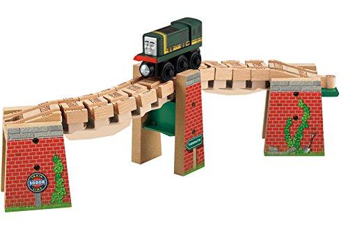 Fisher-Price Thomas the Train Wooden Railway Wacky Track Bridge
