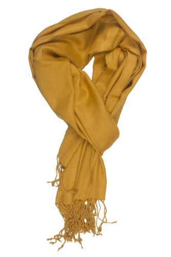 In-Sattva Colors - Soft & Elegant Solid Color Scarf Stole Mustard
