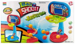 Wmu - 2-in-1 Basketball Shooter Game