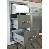 Big Sale Best Cheap Deals Double Drawer and Paper Towel Unit