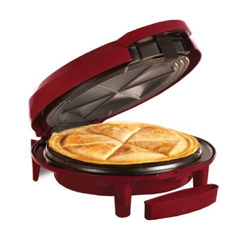 "Read About Bella 12"" Quesadilla Maker - Deep Red"