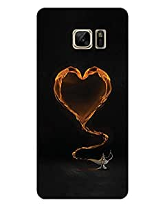 GripIt Yellow Heart From The Magic Lamp Printed Case for Samsung Galaxy Note 7