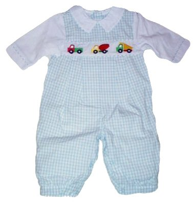 Newborn Boys 2pc Romper Outfit by Samara Classics - Buy Newborn Boys 2pc Romper Outfit by Samara Classics - Purchase Newborn Boys 2pc Romper Outfit by Samara Classics (Samara, Samara Apparel, Samara Toddler Boys Apparel, Apparel, Departments, Kids & Baby, Infants & Toddlers, Boys, One-Pieces & Rompers)