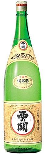 西の関 手造り純米酒 1800ml