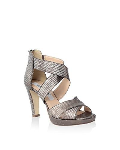 GIANNI GREGORI Sandalo Con Tacco [Antracite]