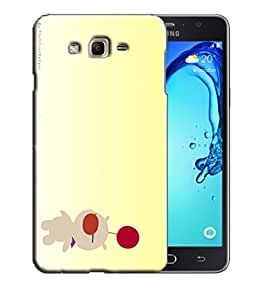 PrintFunny Designer Printed Case For Samsung J3