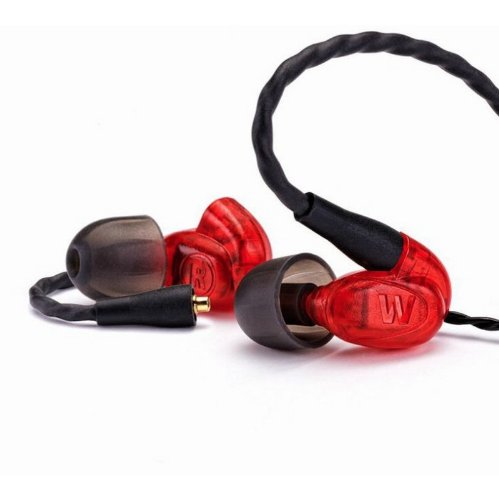 Westone Um Pro10 High Performance Single Driver Noise-Isolating In-Ear Monitors - Red, 78550