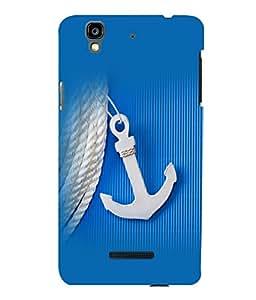 printtech Ship Anchor small Back Case Cover for YU Yureka::Micromax Yureka AO5510