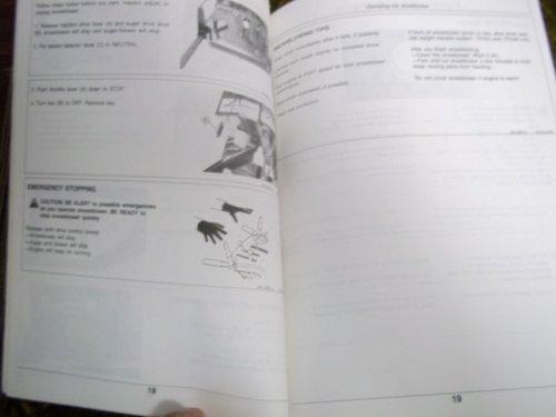 John Deere TRS24/TRX24/TRS26 OMM95308 OEM OEM Owners's Manual