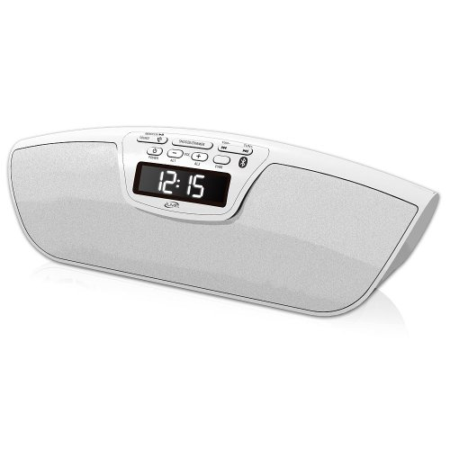 Ilive Bluetooth Speaker With Clock - White