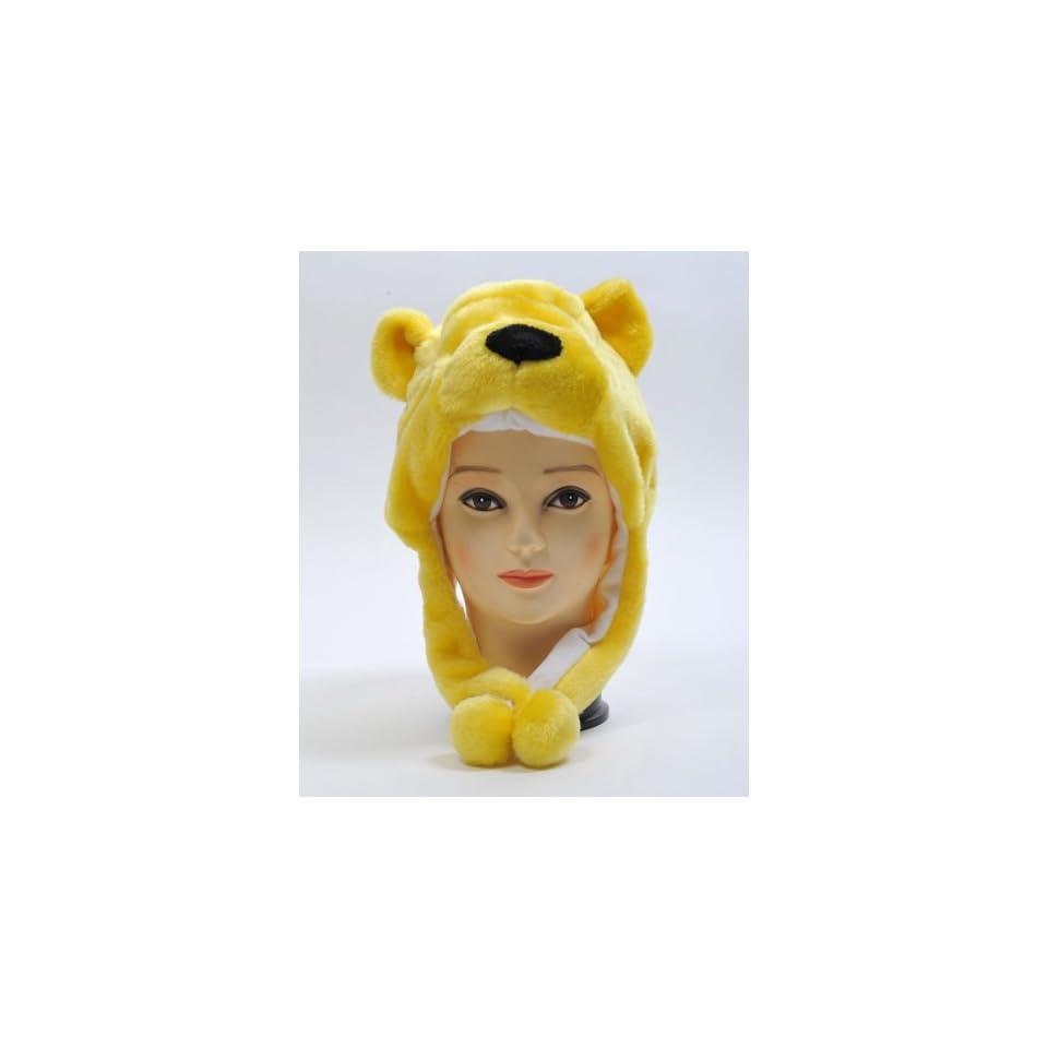 HATC1180 Kid/'s /'Hat-imals/' Panda Bear Plush Winter Hat