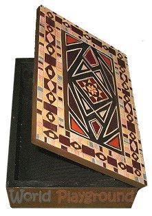 Wooden Trinket Box - Persian Design Jewellery Box