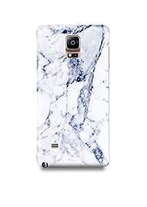 White & Grey Marble Samsung Note 4 Case