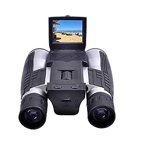 双眼鏡カメラ Camking 1080P  デジタルカメラ 双眼鏡カメラ(2LCDスクリーン付)