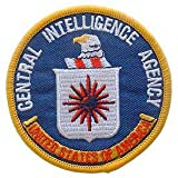 USA Military Embroidered Iron On Patch - Central Intelligence Agency CIA Applique