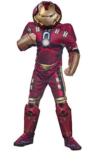[Mememall Fashion Avengers 2 Deluxe Hulkbuster Child Costume] (Hulkbuster Costume Cosplay)