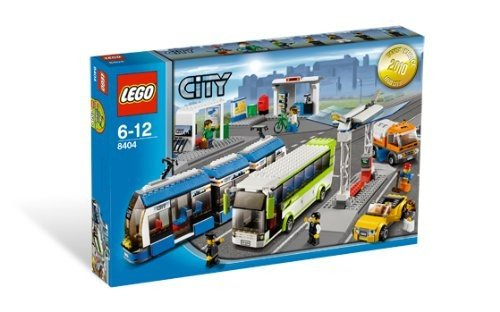 Lego 8404 City Bus und Tramstation