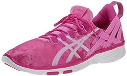 ASICS Women\'s GEL-Fit Sana Cross-Training Shoe, Orchid/White/Pink, 7.5 M US