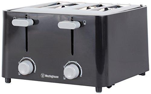 Westinghouse WT4201B 4 Slice Toaster, Black by Westinghouse (Air Heater Westinghouse compare prices)