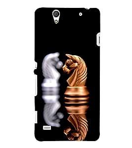 PRINTSHOPPII CHESS SPORTS Back Case Cover for Sony Xperia C4 Dual E5333 E5343 E5363::Sony Xperia C4 E5303 E5306 E5353