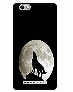 Lenovo Vibe C A2020 Back Cover Designer Hard Case Printed Cover