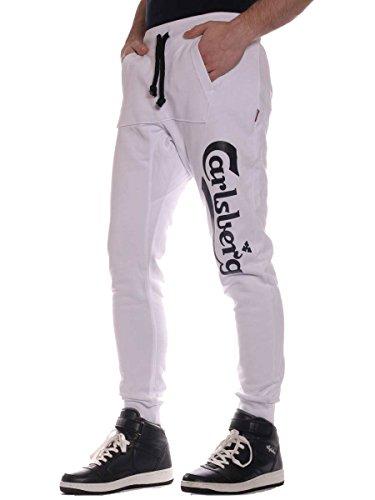 Pantalone Carlsberg Cbu1565 Bianco S