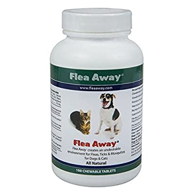 Flea Away All Natural Flea Repellent for Dogs and Cats