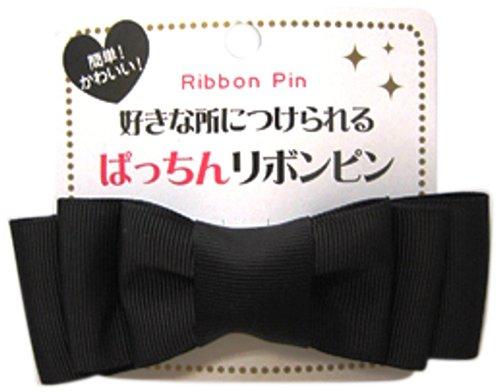 リボンピン グログランBK PNRー5