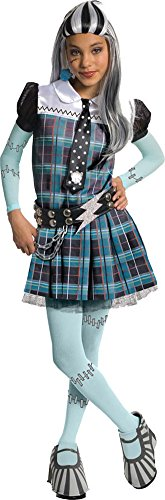 girls - Monster High Frankie Stein Child Costume Deluxe Lg Halloween