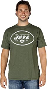Junk Food Clothing Company New York Jets T-Shirt in Kelly Green- Small [Misc.]