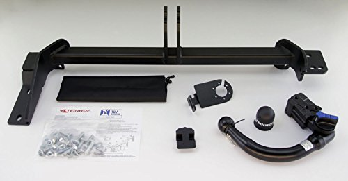 Anhngerkupplung-abnehmbar-fr-Land-Rover-Range-Rover-Evoque-ab-092011-Steinhof-AHK-mit-universalem-E-Satz-13-polig