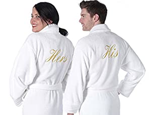 towelsrus his and hers 100 egyptian cotton dressing gowns her robe extra extra large his. Black Bedroom Furniture Sets. Home Design Ideas