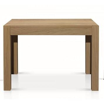 TABLES&CHAIRS tavolo pranzo legno rovere naturale rettangolare allungabile 689 110x80x76