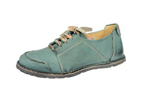 Laccio da sostenere EJECT scarpe., Sins moca SONY3BRC cyciukblu, in pelle, HW 2010, Blu (blu), 37