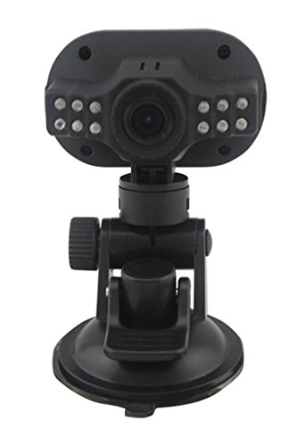 niceeshop(TM) HD1080P Video Audio 5.0MP Kamera Recorder CARcorder Fahrzeug Blackbox Auto DVR, (Schwarz, Set von 5)