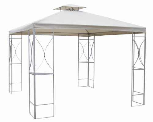Redwood Leisure Metal Gazebo 3x3m